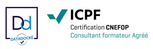 Datadockée et certifiée ICPF